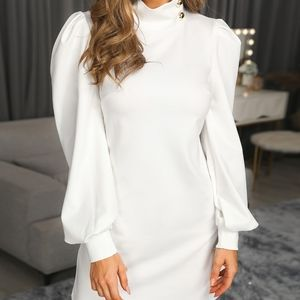 CBR WINTER WHITE DRESS